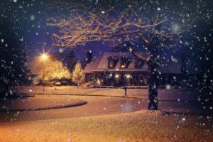 Cicha noc, śnieżna noc