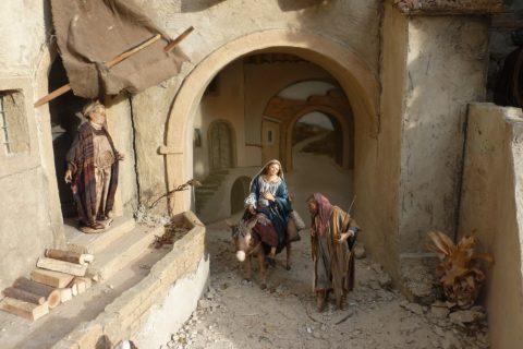 O Józefie coś szukał gospody