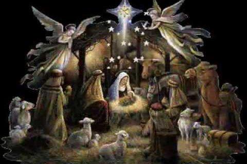 Anieli w niebie śpiewają
