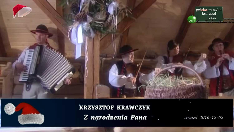 Kolęda Krzysztofa Krawczyka - Z narodzenia Pana