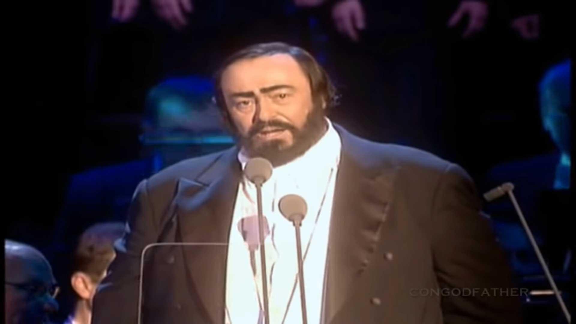 Kolęda włoska Luciano Pavarotti