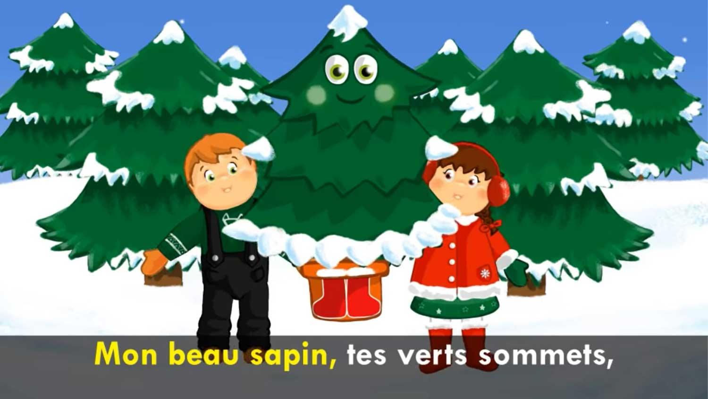 Mon beau sapin - kolęda z francji