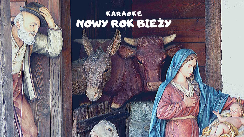 Nowy Rok bieży karaoke