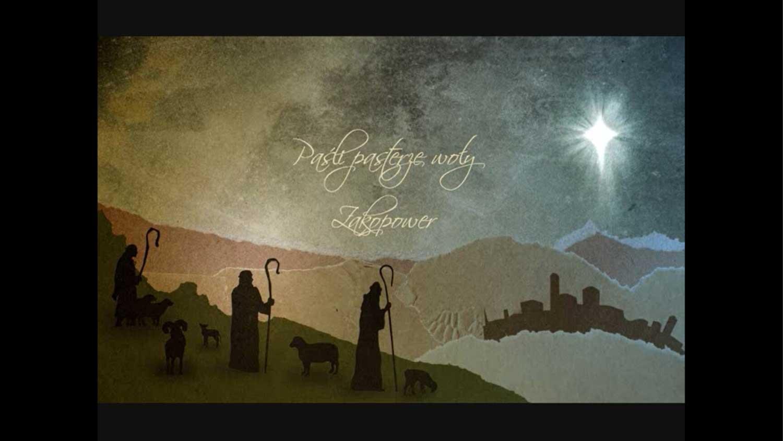 Paśli pasterze woły kolęda z gór