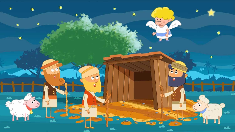 Pójdźmy wszyscy do stajenki - pastorałka dla dzieci