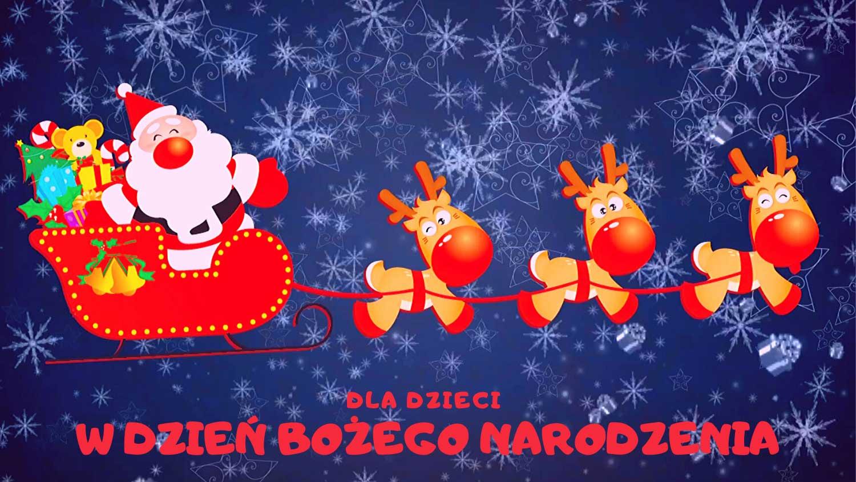 W dzień Bożego Narodzenia dla dziecka